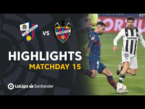 Huesca Levante Goals And Highlights