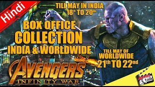 AVENGERS: INFINITY WAR Box Office Collection India & Worldwide 3 & 2 Days