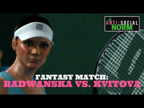 Kvitova vs. A. Radwanska - Top Spin 4 - Fantasy Match