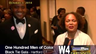 w4 news 100 men of color black tie gala 10 3 2014