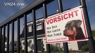 18.08.2018 - VN24 - 5j. Kind wurde von Wachhund auf der Straße ins Bein gebissen