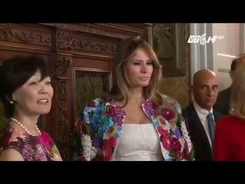 (VTC14)_Bà Trump Diện áo Khoác Có Giá Bằng Thu Nhập 1 Năm Của Người Mỹ