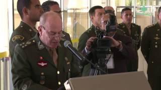 Oficiais-generais do Exército  recebem a espada de general em Brasília