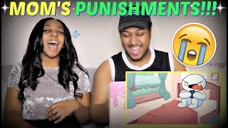 "TheOdd1sOut ""My Mom's Cruel and Unusual Punishments"" REACTION!!"