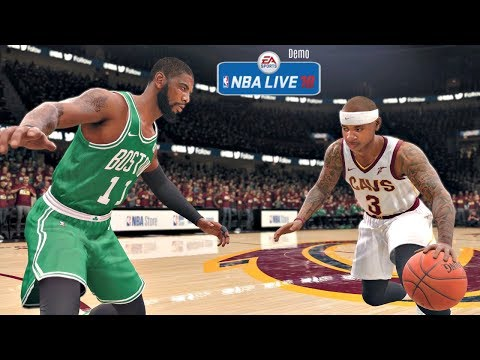 NBA Live 18 Demo Gameplay | Cleveland Cavs vs Boston Celtics Full Game (Updated Rosters!)