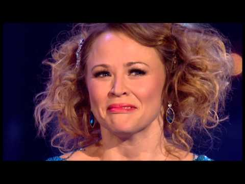 Kimberley Walsh and Pasha Kovalev on Strictly Come Dancing - Dance 2 (semi final)