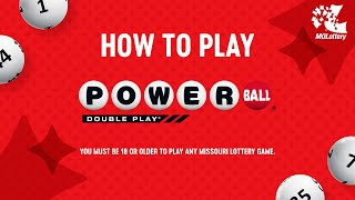 How to Play: Powerball