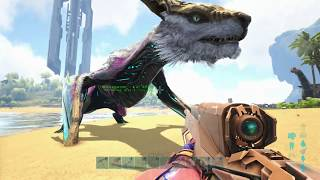 Download lagu How To Spawn in a Tamed Managarmr with Ascendant Saddle in Ark MP3
