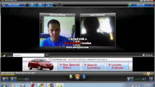 me and mike on oovoo