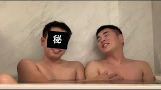 お風呂からこんばんわ! ありのままの2人 목욕탕에서 안녕…