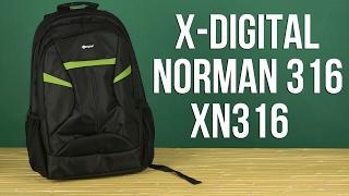 Розпакування X-Digital Norman 316 16 Black XN316