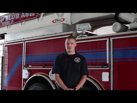 Great Beginnings: 2011 Firefighting Matt Poppe: Fire Lieutenant thanks to his start at Great Oaks!