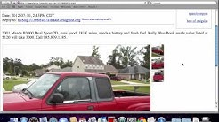 Craigslist New Orleans - Popular Used Cars and Trucks for Sale By Owner in 2012