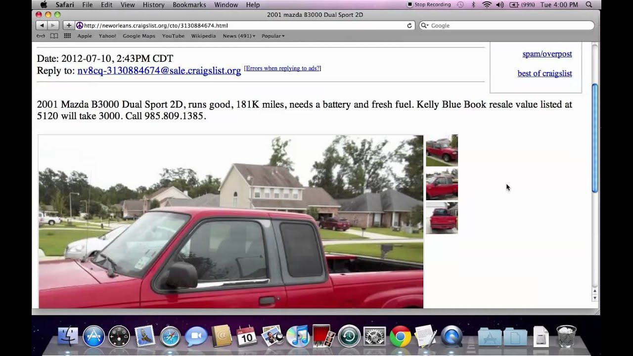 Craigslist New Orleans Popular Used Cars And Trucks For