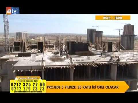 Floria City projesi Irak Erbil Atv Avrupa Yaşam Mimarları