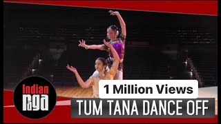 Tum Tana Dance-Off : Kathak - Bharatanatyam   Indian Classical Dance