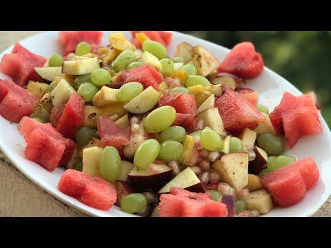 Easy fruit chaat recipe iftar recipes Ramzan recipes