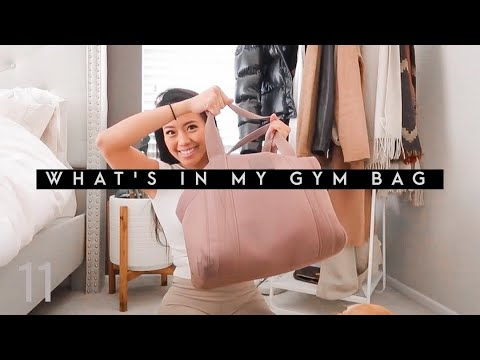 GYM BAG ESSENTIALS | What's in my Gym Bag 2020 || MOERACOLEEN