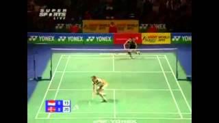 2010 alll england qf taufik hidayat vs peter gade set 1 highlights hq
