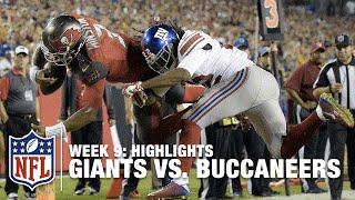 Giants vs. Buccaneers | Week 9 Highlights | NFL