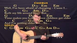 Landslide (Fleetwood Mac) Strum Guitar Cover Lesson with Chords/Lyrics