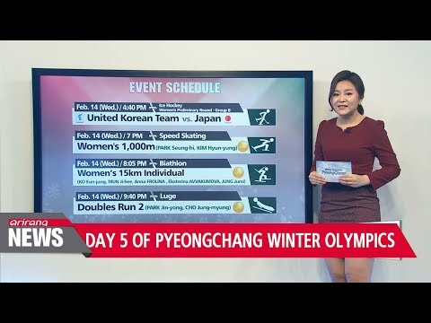 Day 5 of PyeongChang Winter Olympics