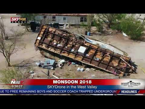 FULL WEATHER COVERAGE: Major monsoon storm hits Phoenix, Arizona