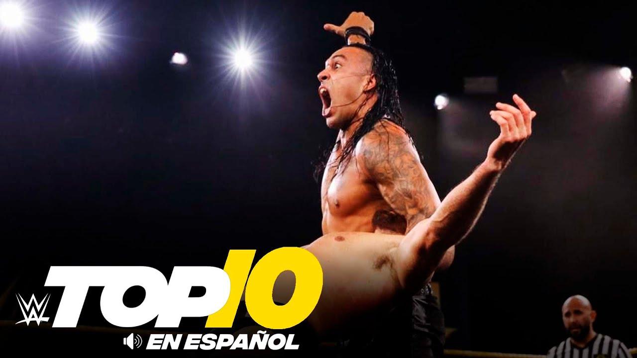 Top 10 Mejores Momentos de NXT En Español: WWE Top 10, Ago 5, 2020