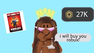*Send This To Your Parents With NO CONTEXT* If You Want Robux! 😏