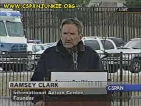 """""""The People Who Wrote The Constitution Were Serious About  Impeachment!"""" Ramsey Clark (2007)"""