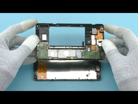 Nokia XL Disassembly Full - Nokia Android