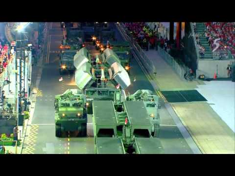 HD 5 - Singapore National Day Parade 2015 : Full Army & Navy Assets Segment [720p]
