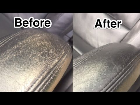 Restoring Colour For Black Leather Car Seats