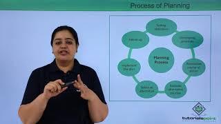 Process of Planning