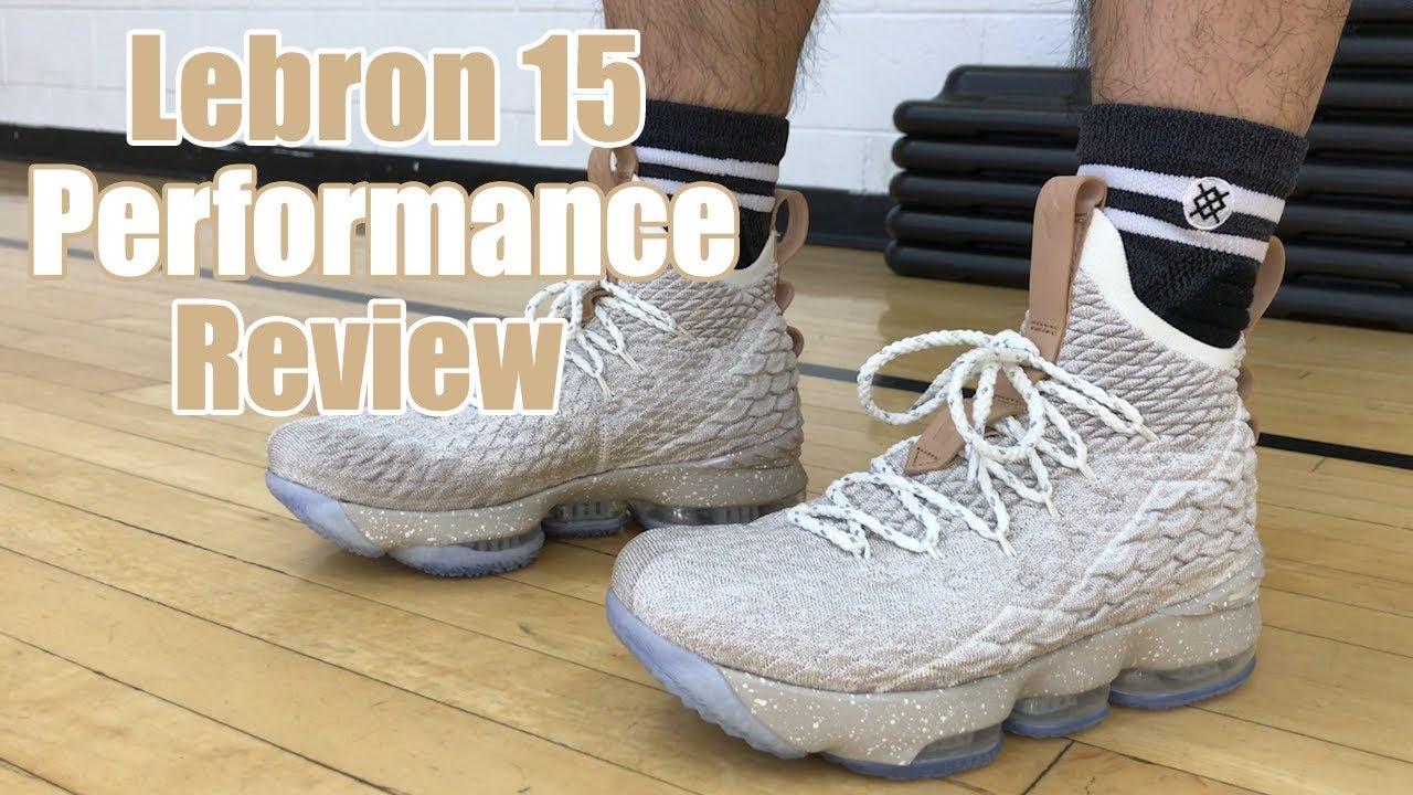 f73905e9c151c NIKE LEBRON 15 PERFORMANCE REVIEW - YouTube