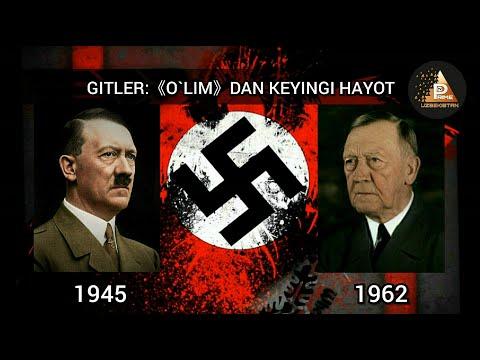 Adolf Gitler: «O'lim»dan Keyingi Hayot (2-qism)