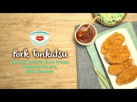 Pork Tonkatsu (Baon Recipe)