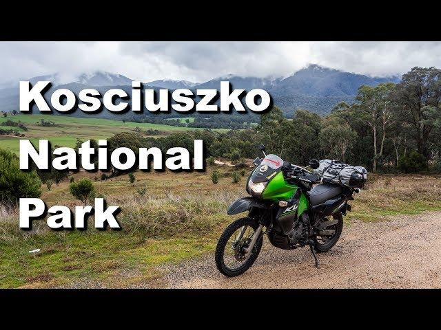 Motorcycle Trip around Australia - Kosciuszko National Pak & Canberra (Ep 19)