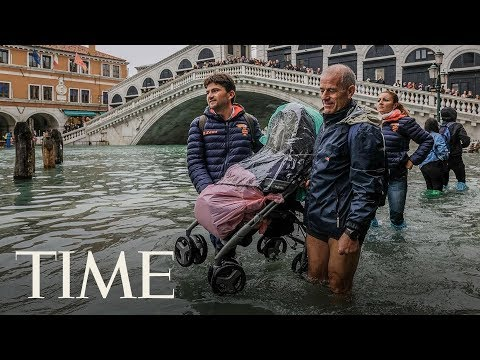 Venice Is 75% Under Water As Italy Confronts Widespread Flooding, Deadly Winds | TIME
