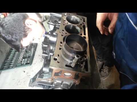 Сборка двигателя Рено Логан 1.6 под Турбо