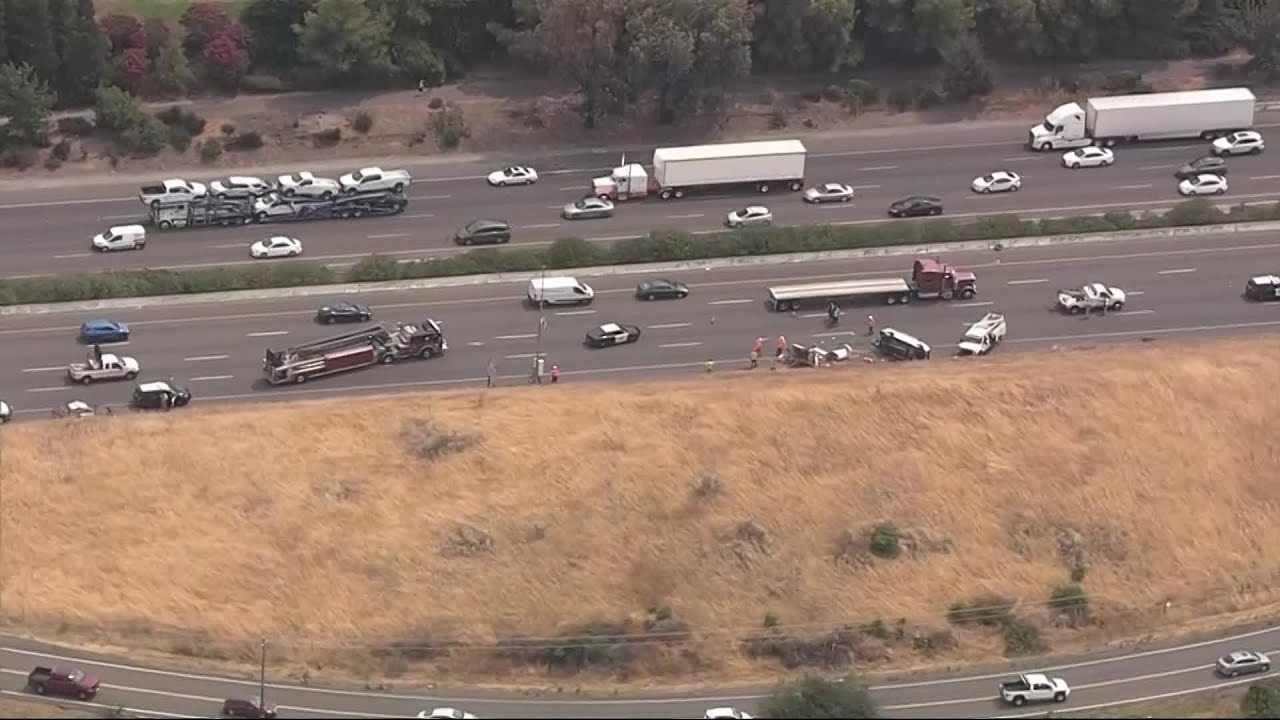3 Caltrans Workers Hurt When Truck Hits Their Van On I-80 In Fairfield