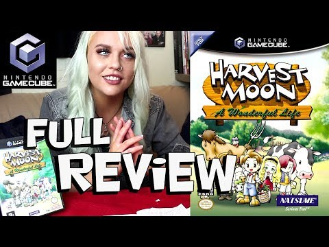 HARVEST MOON: A WONDERFUL LIFE REVIEW FOR NINTENDO GAMECUBE!