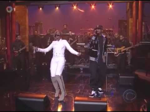 Jay-Z ft. Mary j. Blige - Can't Knock the Hustle (Live @ David Letterman 04.04.2008) [HQ]
