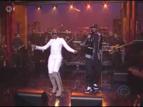 Jay-Z ft. Mary j. Blige - Can't Knock the Hustle (Live @ David Letterman 04.04.2008) [HQ]