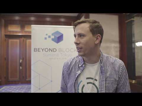 Matthew Spoke, Founder of AION - Digging Deeper at Beyond Blocks Summit Tokyo 2018.