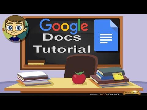 Google Docs Tutorial