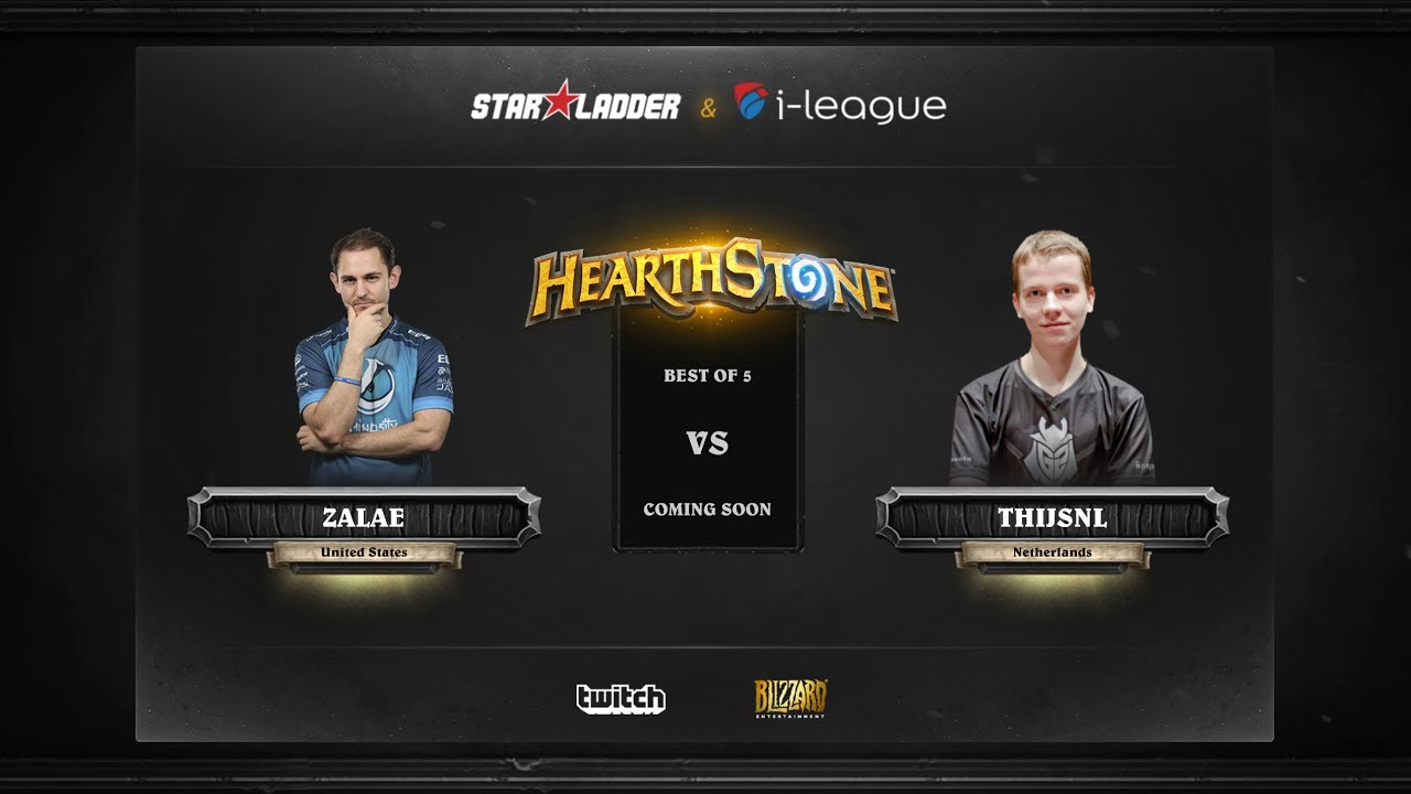[EN] Zalae vs ThijsNL | SL i-League Hearthstone StarSeries Season 3 (30.05.2017)