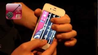 http://itunes.apple.com/app/sanshin/id328157378 iPhone向け楽器アプ...
