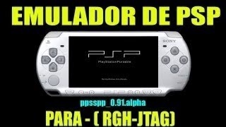Como instalar Emulador de  PSP • [ ppsspp_0.91.alpha ] • Para Xbox RGH