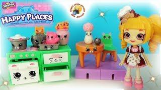 КУХНЯ для кукол ШОПКИНС Игровой набор Happy Places S1 Счастливый дом Петкинс Kitchen Playsets